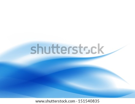 abstract light flowing blue background