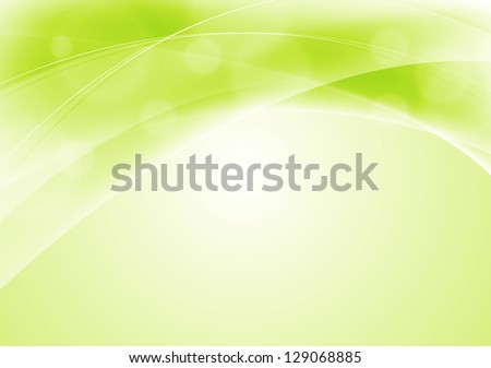 Abstract Background Light Green Abstract Light Green Wavy