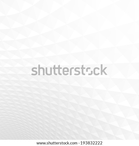 Abstract light perspective background, white and gray texture.