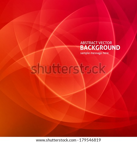 abstract light waves vector