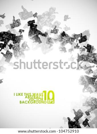 abstract like, eps10