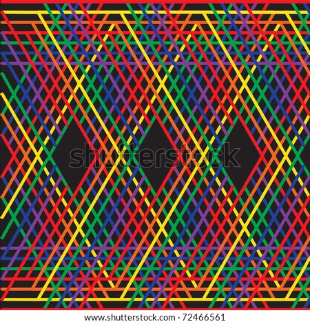 Abstract line zigzag pattern  vector illustration