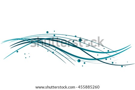 Abstract lines. Vector illustration