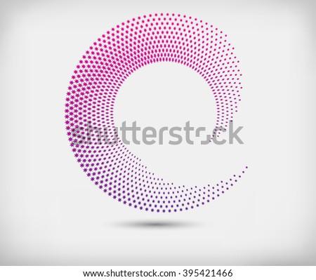 abstract logo designvector