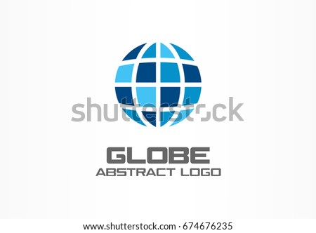 Free globe grid logo vector download free vector art stock abstract logo for business company corporate identity design element internet technology network gumiabroncs Choice Image