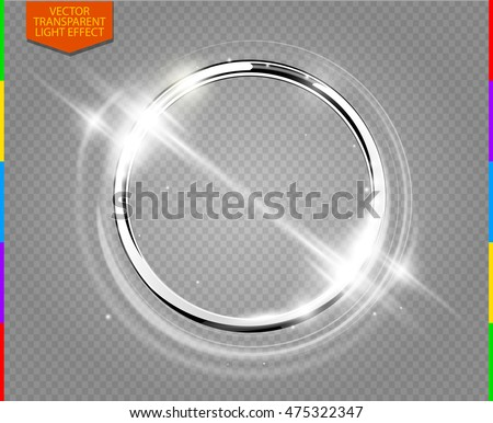 abstract luxury chrome metal