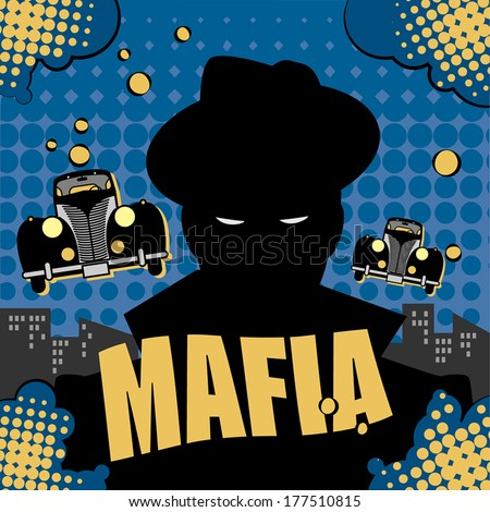 abstract mafia or gangster