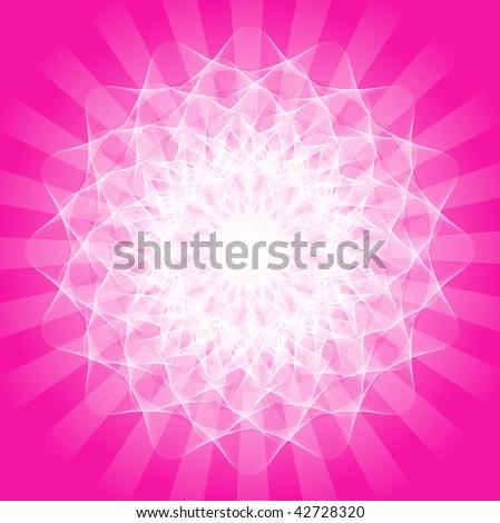 Abstract Mandala Background - Vector - stock vector