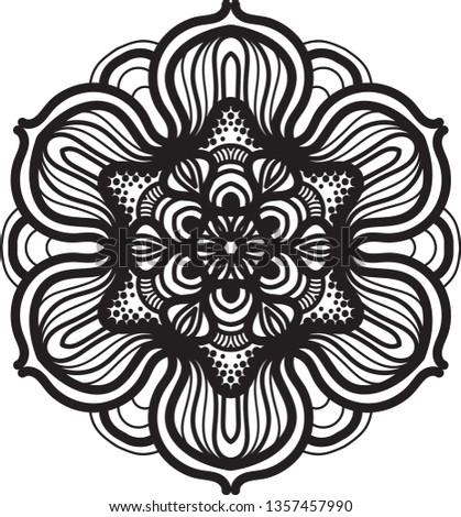 abstract mandala graphic design