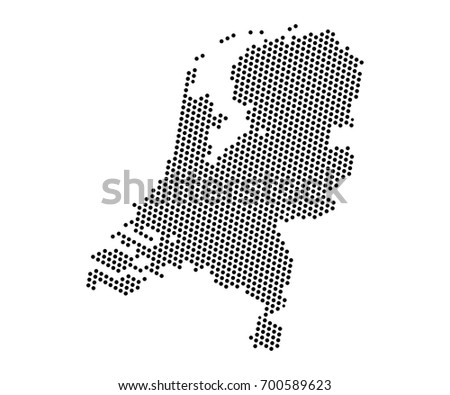 Free Netherlands Map Download Free Vector Art Stock Graphics Images