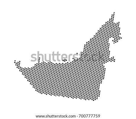 Free dotted uae map vector download free vector art stock abstract map of united arab emirates dots planet lines global world map halftone concept gumiabroncs Images