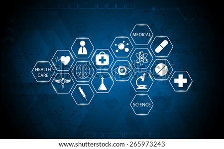 abstract medical health care