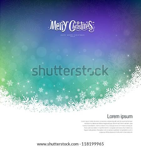 abstract merry christmas
