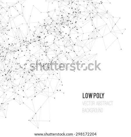 abstract mesh background with