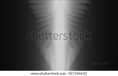 abstract metal background  glow