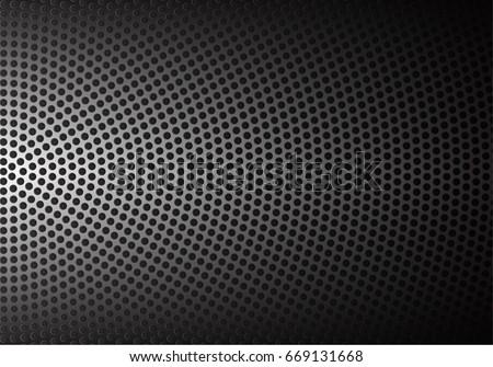 abstract metal circle mesh