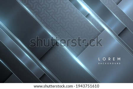Abstract metal surface background with glow effect