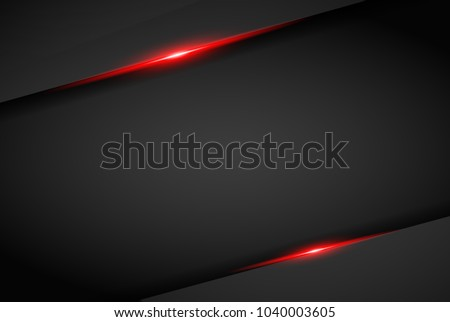 abstract metallic red black