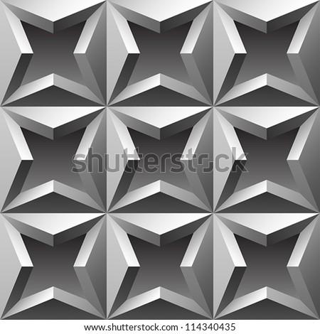 abstract metallic seamless