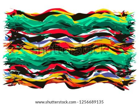 abstract mexican carpet concept