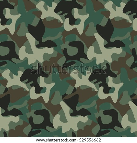 abstract military camouflage