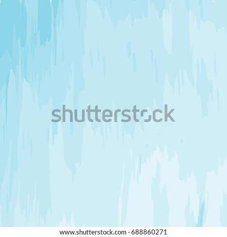 Abstract Minimal Blue Watercolor Vector Illustration Background