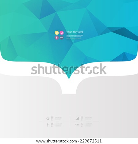 abstract minimal color design