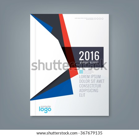 Abstract minimal geometric shapes design background for business annual report book cover brochure flyer poster