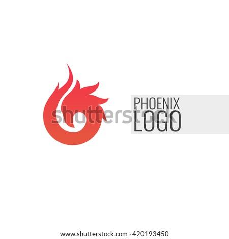 abstract minimalistic logo of