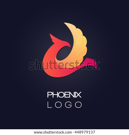 abstract minimalistic logo of