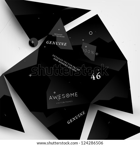 Abstract modern background for futuristic web design