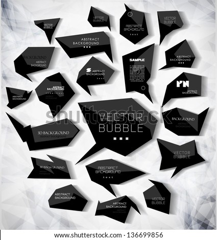 abstract modern bubble with background can be used for website info-graphics banner