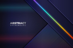 Abstract Modern Colorful Diagonal Layer RGB Glow Background