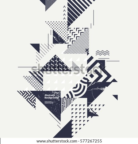 stock-vector-abstract-modern-geometric-composition