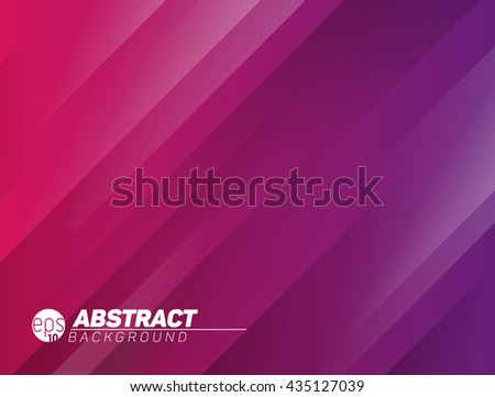 Stock Photo Abstract modern stripped background with shadow lines - purple and red