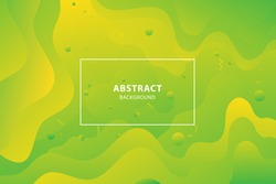 Abstract modern style banner design. Dynamical colored forms. abstract banners with flowing liquid shapes. Template for the design of a flyer or presentation.
