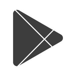 Abstract modern triangular abstract logo design.