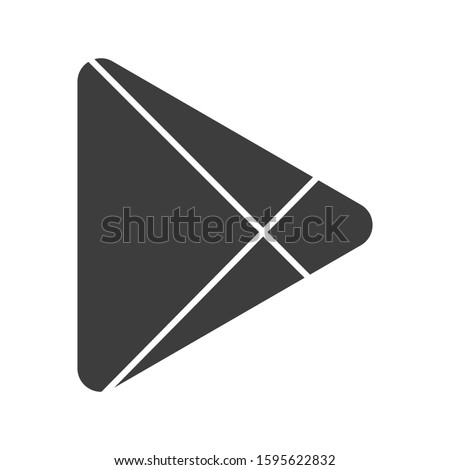 Abstract modern triangular abstract logo design.