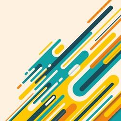Abstract modish illustration.Vector illustration.