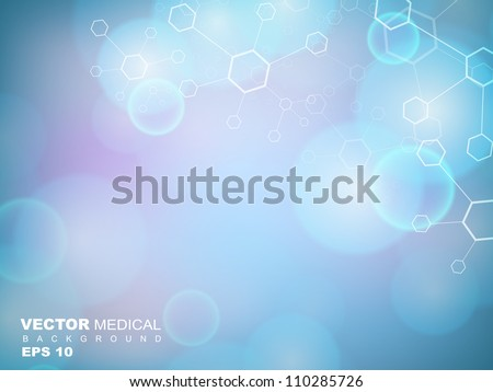 abstract molecules medical