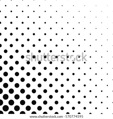 abstract monochrome dot pattern