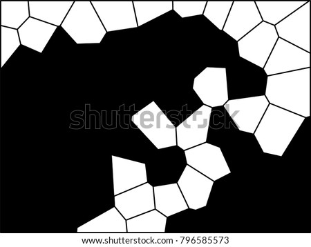 abstract monochrome firing