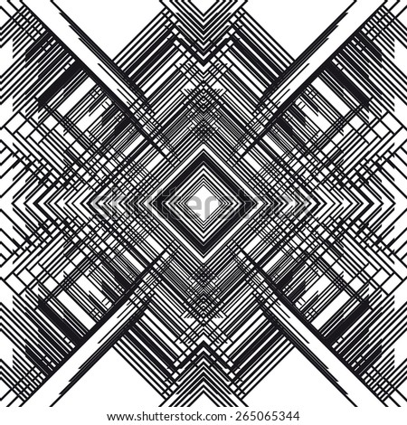 abstract monochrome geometric