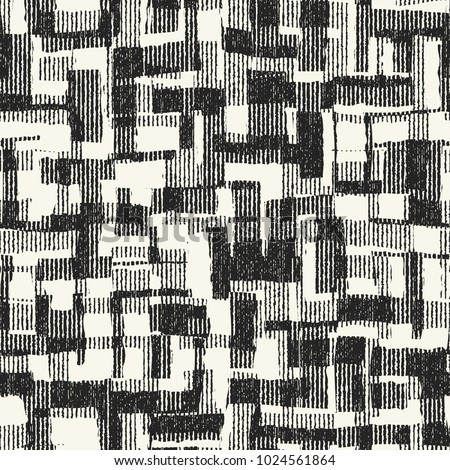 abstract monochrome patchwork
