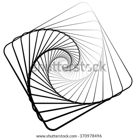 Distorted Square Abstract Pattern Vector - Download Free Vector Art