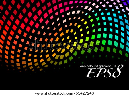 Abstract mosaic background, eps8 vector illustration.