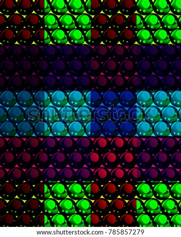 abstract mosaic background with
