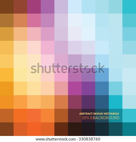 abstract mosaic colorful