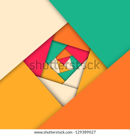 Abstract mosaic geometric background, vector illustration