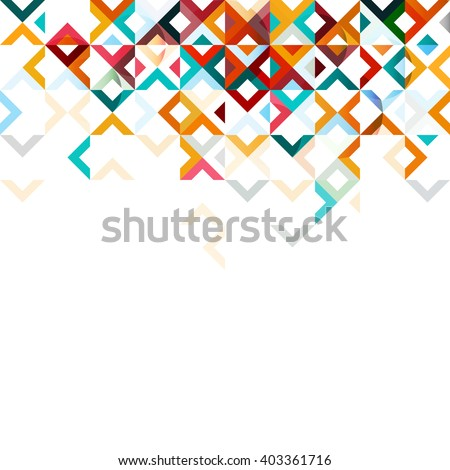 abstract mosaic mix geometric
